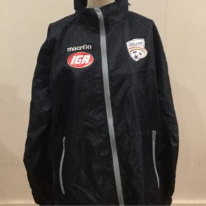 Adelaide United spray jacket navy