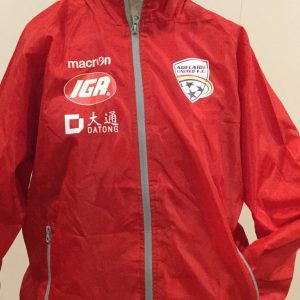 Adelaide United Red spray jacket Datong S