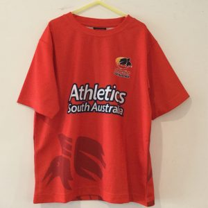 Athletics Red T Shirt