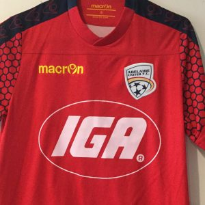 Adelaide United Silky Hexagon Sleeve