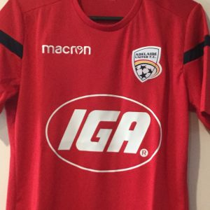 Adelaide United AGL Silky red top