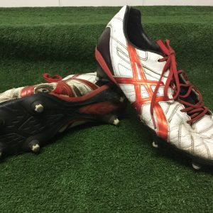 ASICS US size 12 worn boots