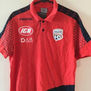 Adelaide United Red Hexagon Polo shirt