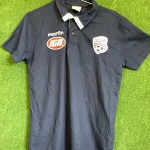 Adelaide United Navy IGA polo top