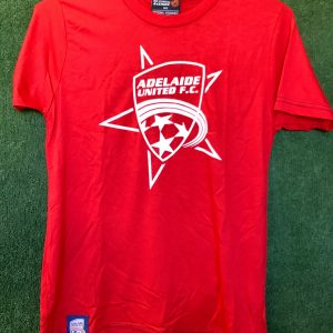 Adelaide United cotton red t-shirt