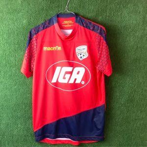 Adelaide United IGA Macron silky top