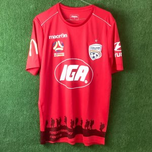 Adelaide United Remembrance Day top