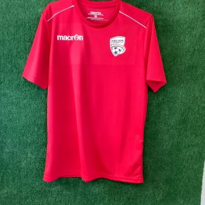 Adelaide United top with grey piping