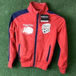 Adelaide United kids jacket with blue zipper