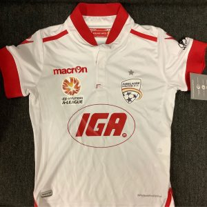 Adelaide United white silky top