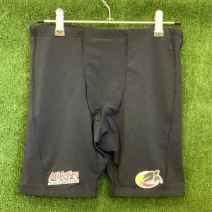 Athletics South Australia Mens panelled tight shorts